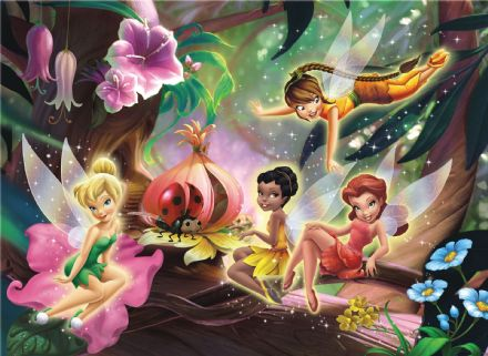 Huge Disney Fairies wallpaper mural